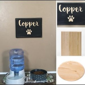Dog Name Plaques